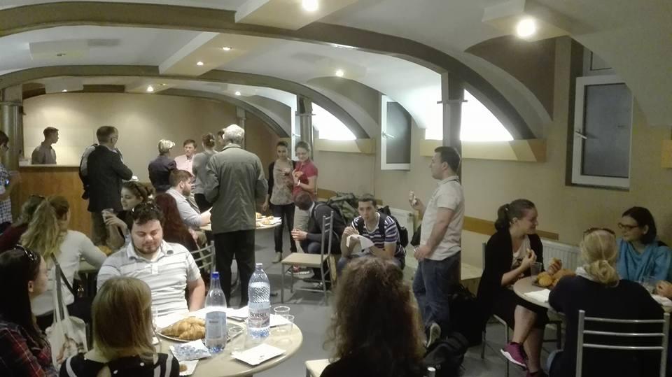 Teológus vendégeink Bécsből